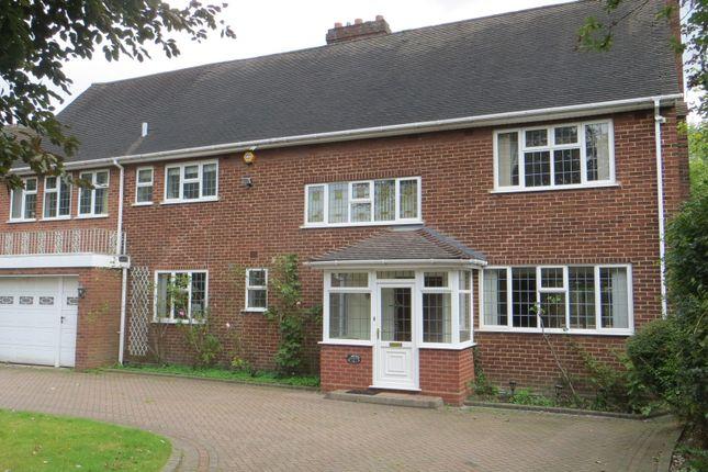 Thumbnail Detached house to rent in Hamilton Avenue, Harborne, Birmingham