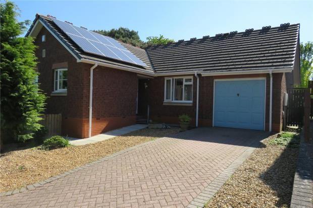 Thumbnail Detached bungalow for sale in Irthing Park, Brampton, Cumbria