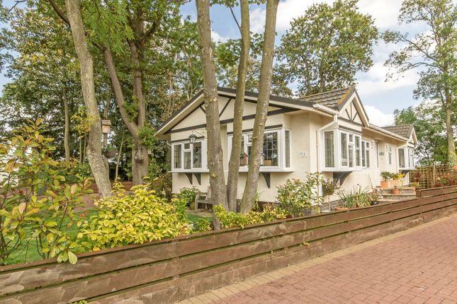 Thumbnail Mobile/park home for sale in 2 Aspen, Monks Muir Park, Haddington