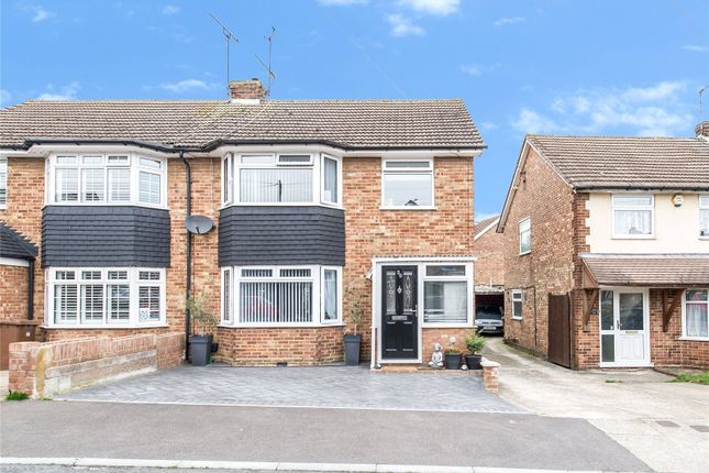 3 bed semi-detached house for sale in Rolvenden Road, Wainscott, Kent ME2