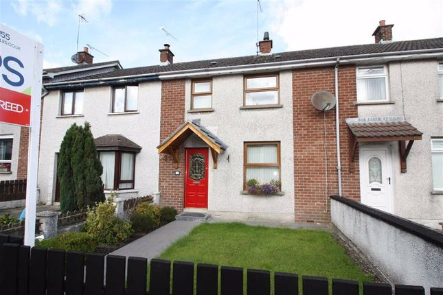 Thumbnail 3 bed terraced house to rent in Hillfoot Crescent, Ballynahinch, Down
