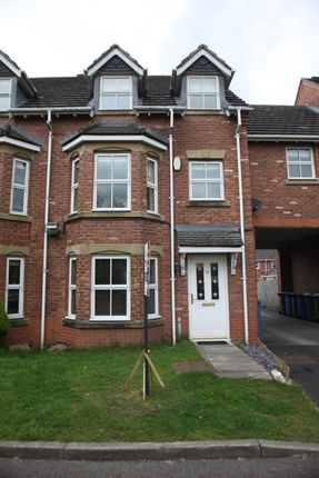 Thumbnail Town house to rent in Bucklow Gardens, Lymm, Cheshire