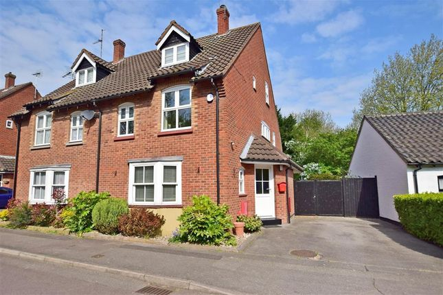 Thumbnail Semi-detached house for sale in Lower Street, Noak Bridge, Essex