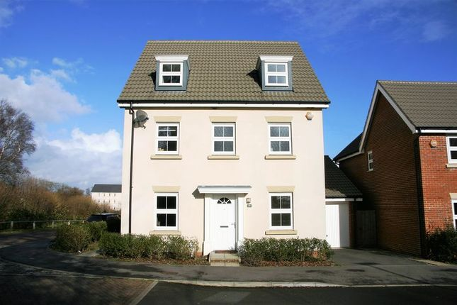Thumbnail Detached house for sale in Lebburn Meadows, Hedge End, Southampton