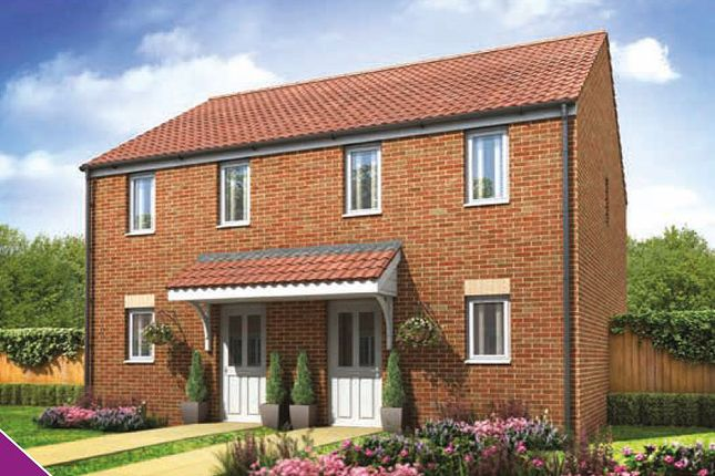 Thumbnail Semi-detached house for sale in Plot 134, The Morden, Plot 134, The Morden, Galileo, Cranbrook