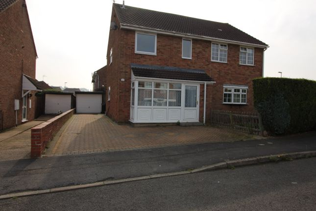 Thumbnail Semi-detached house to rent in Third Avenue, Grantham, Lincolnshire