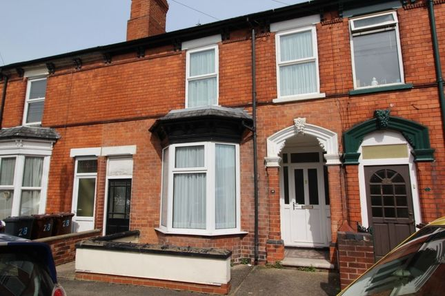 Thumbnail Terraced house to rent in Cranwell Street, Lincoln
