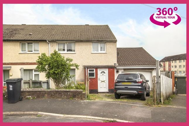 Thumbnail Semi-detached house for sale in Mole Close, Bettws, Newport