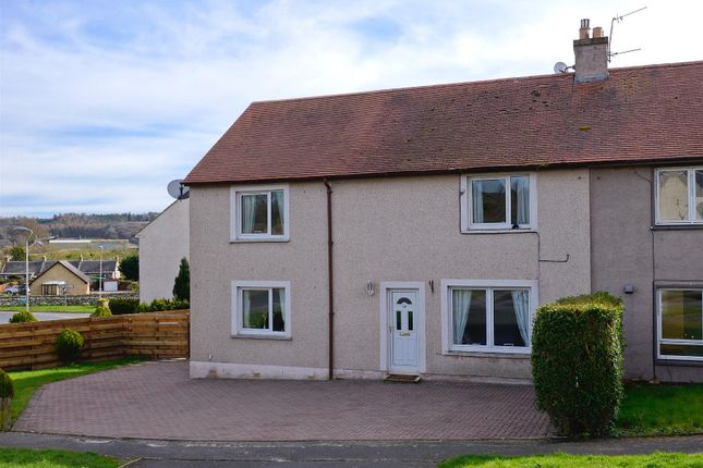 Thumbnail Semi-detached house for sale in Myrescroft Road, Ancrum, Jedburgh