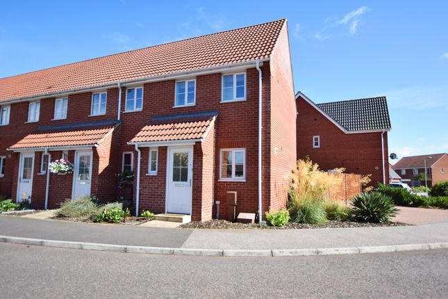 1 bed end terrace house for sale in Grantham Avenue, Great Cornard, Sudbury