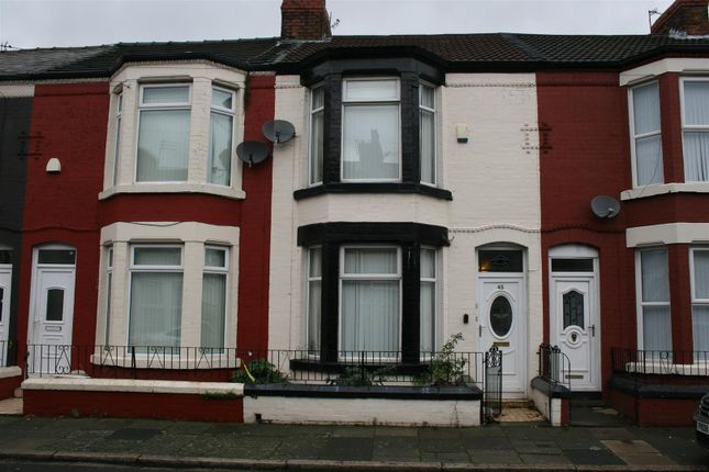 Thumbnail Terraced house to rent in Cedardale Road, Walton, Liverpool