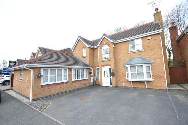 Thumbnail Detached house for sale in Smithford Walk, Tarbock Green, Prescot, Merseyside