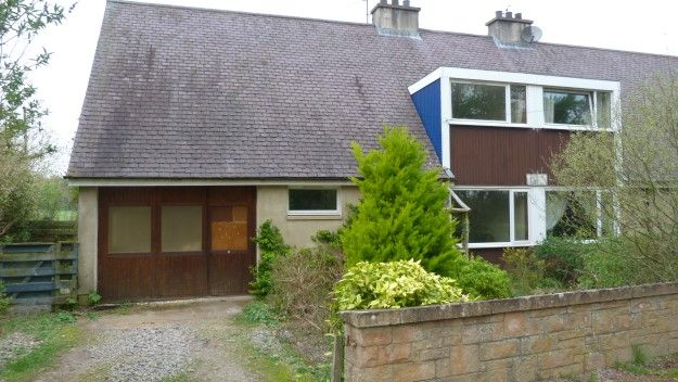 Thumbnail Semi-detached house to rent in 2 Wellside Cottage, Kintessack, Forres