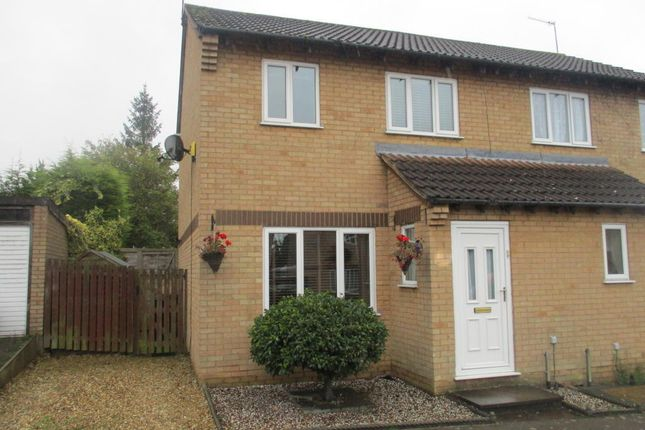 Thumbnail Semi-detached house to rent in Aquitaine Close, Northampton