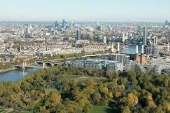 Thumbnail Flat for sale in Vista, Chelsea Bridge, Battersea