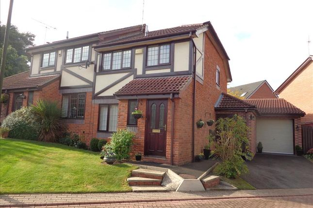 Thumbnail Semi-detached house for sale in Oak Court, Sprotbrough, Doncaster