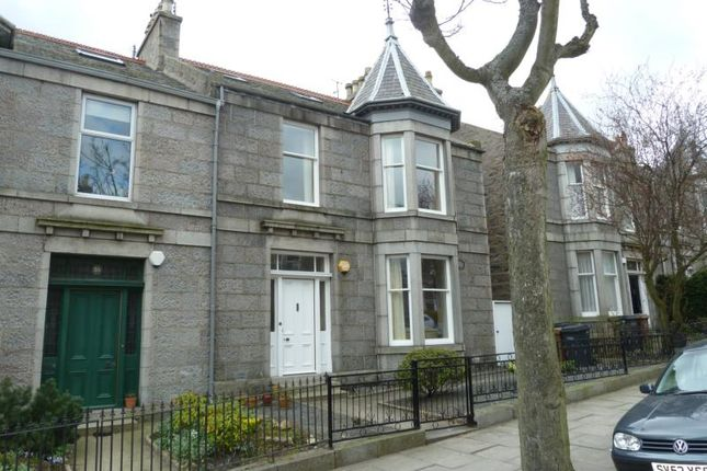 Thumbnail Terraced house to rent in Grosvenor Place, Aberdeen