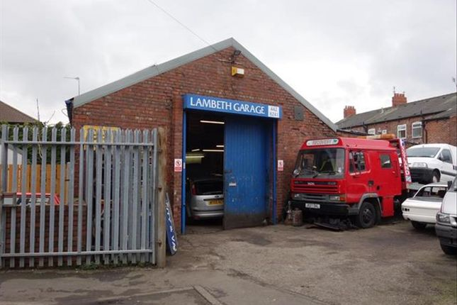 Thumbnail Commercial property for sale in Garage & Freehold Property SK5, Cheshire