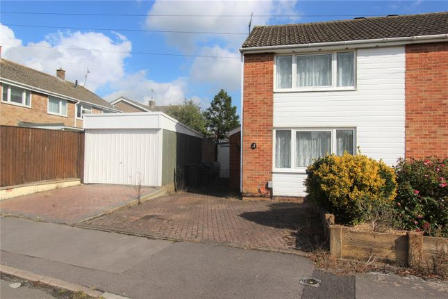 2 bed semi-detached house to rent in Keats Close, Royal Wootton Bassett, Wiltshire SN4