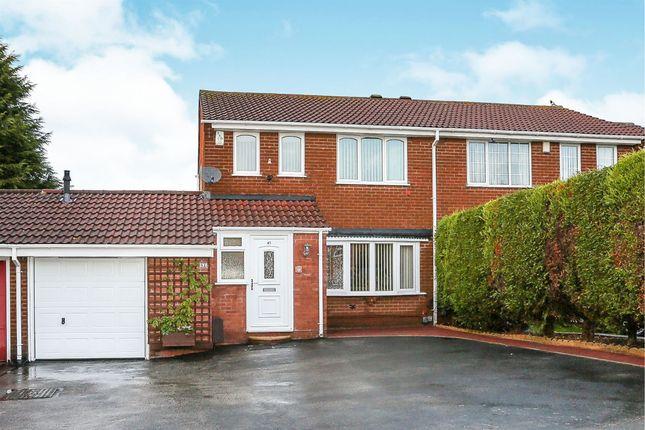 Thumbnail Semi-detached house for sale in Parkfield Drive, Castle Bromwich, Birmingham