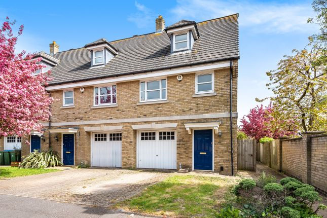 Thumbnail End terrace house for sale in Marshall Square, Banister Park, Southampton, Hampshire