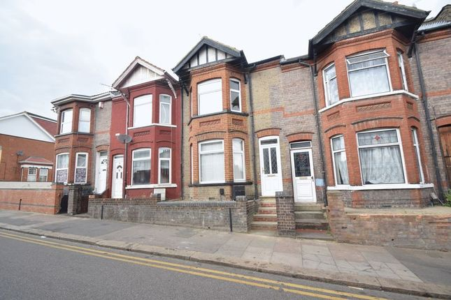 Thumbnail Terraced house to rent in Ashburnham Road, Luton