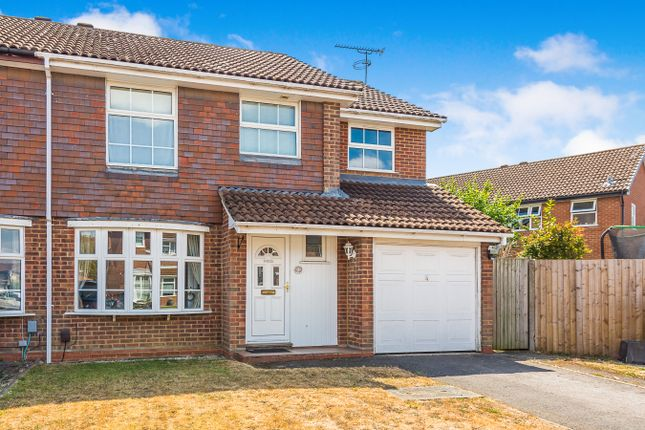 Thumbnail Semi-detached house to rent in Mitchell Way, Woodley, Reading