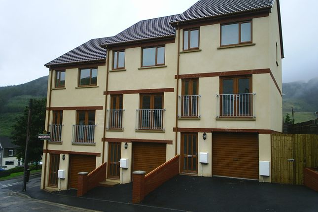 Thumbnail Town house for sale in Trinity Court, Blaengarw, Bridgend