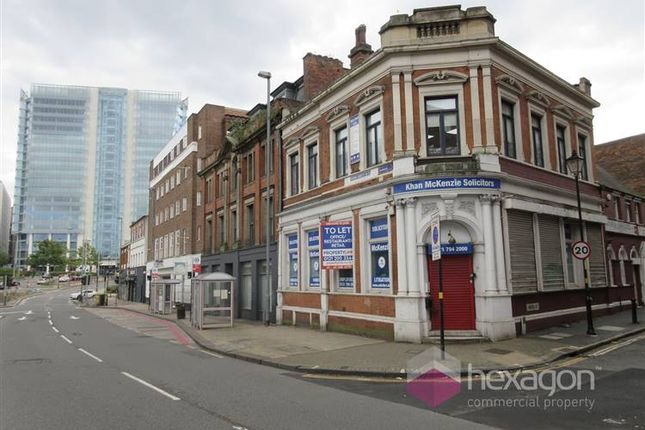 Thumbnail Retail premises to let in 86A Old Snow Hill, Birmingham