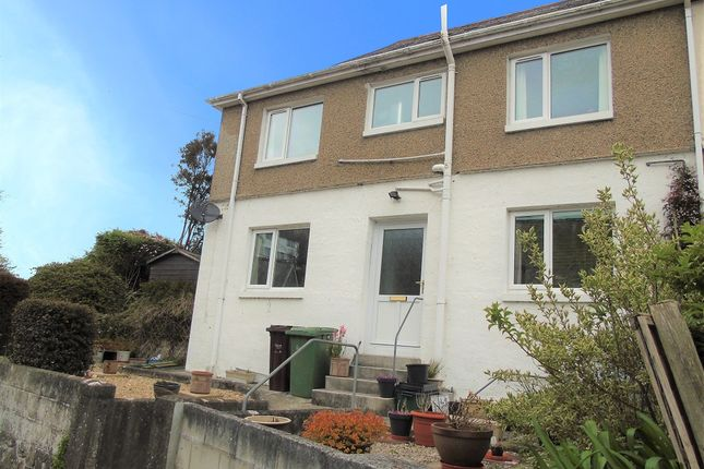 Thumbnail End terrace house for sale in Mount Prospect Terrace, Newlyn, Penzance, Cornwall.