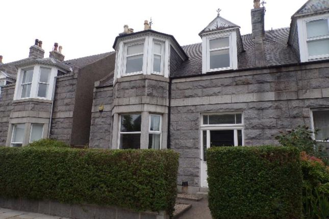 Thumbnail 3 bed terraced house to rent in Forbesfield Road, Aberdeen