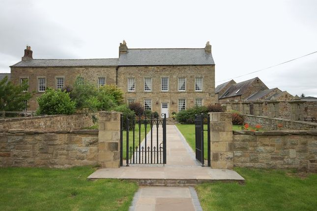 Thumbnail Semi-detached house for sale in Nunriding Hall, Mitford, Morpeth