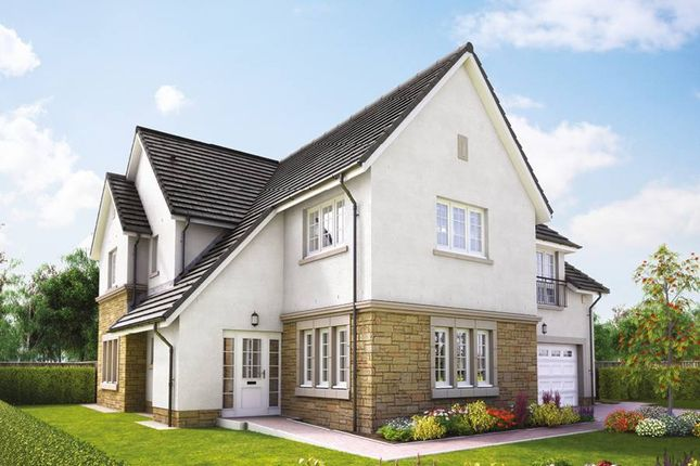 "Thumbnail Detached house for sale in ""The Lowther"" at Hillview Gardens, Nivensknowe Park, Loanhead"