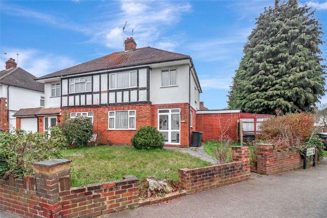 Thumbnail Semi-detached house for sale in Horseshoe Lane, Watford