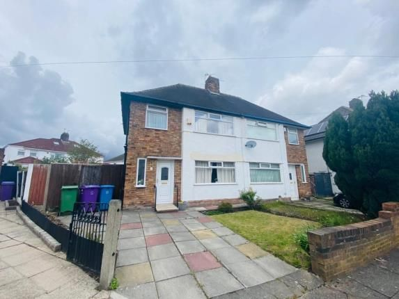 Semi-detached house for sale in Durston Road, Liverpool, Merseyside