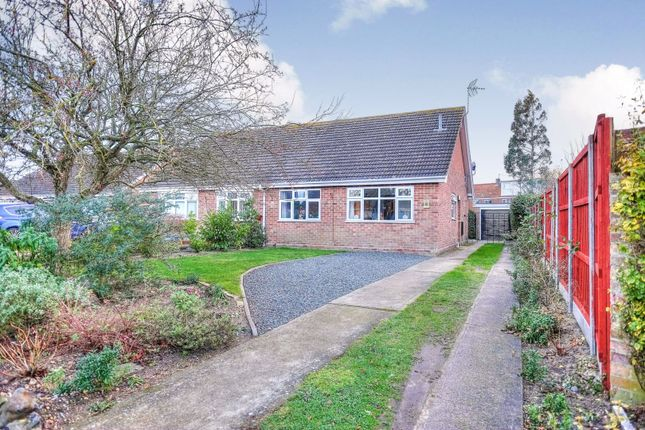 Thumbnail Semi-detached bungalow for sale in Turner Close, Bungay