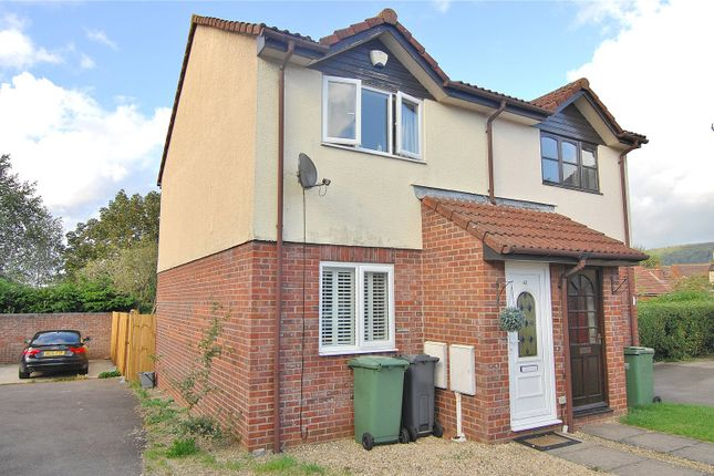 Thumbnail 2 bed semi-detached house for sale in Melbourne Close, Stonehouse, Gloucestershire