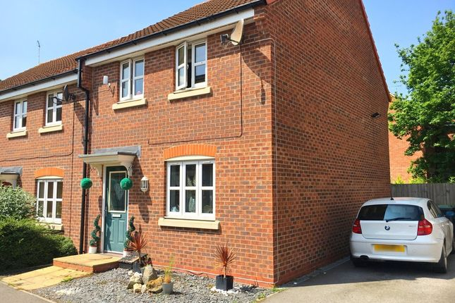 Thumbnail End terrace house to rent in Maximus Road, North Hykeham, Lincoln