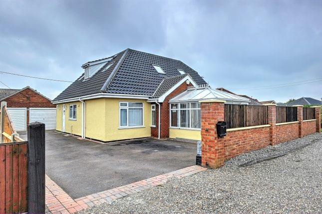 Thumbnail Detached bungalow for sale in Beach Close, Great Yarmouth