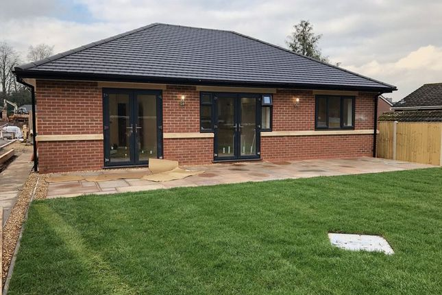 Thumbnail Detached bungalow for sale in Priory Road, Newcastle-Under-Lyme