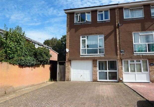 Thumbnail End terrace house for sale in Ashdown Avenue, Farnborough, Hampshire