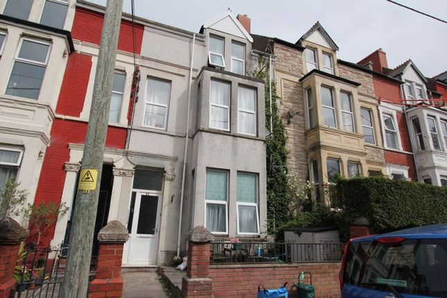 Thumbnail Terraced house for sale in Plymouth Road, Barry Island, Barry