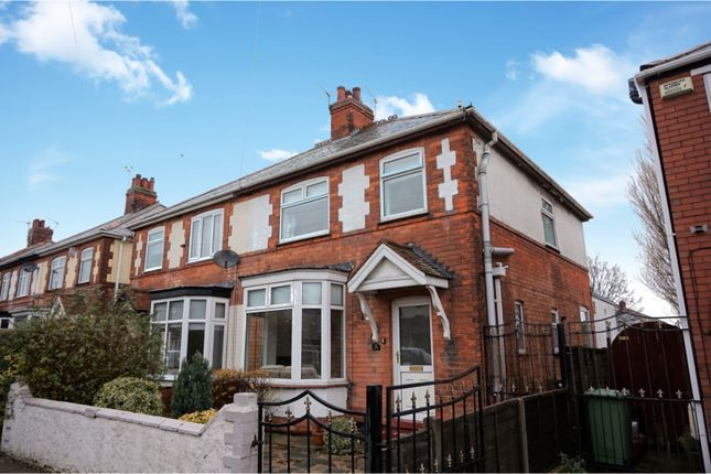 Thumbnail Semi-detached house for sale in Cross Coates Road, Grimsby
