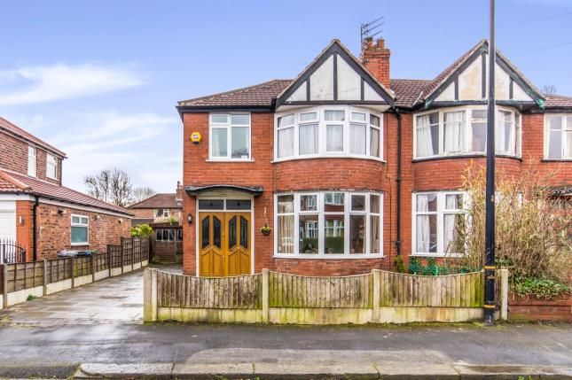 Thumbnail Semi-detached house for sale in Chestnut Drive, Sale, Trafford, Greater Manchester