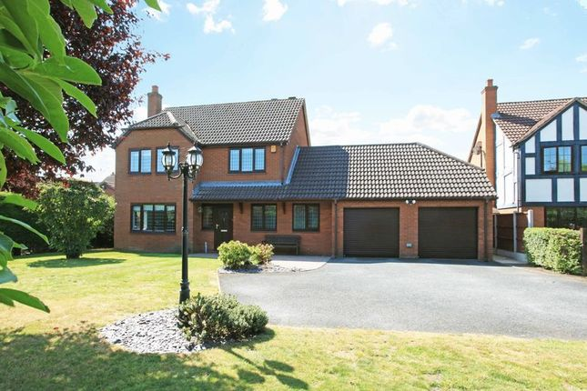 Thumbnail Detached house for sale in Manchester Drive, Leegomery, Telford