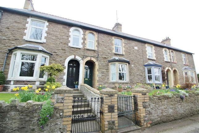 3 bed terraced house for sale in Raglan Terrace, Abergavenny, Monmouthshire
