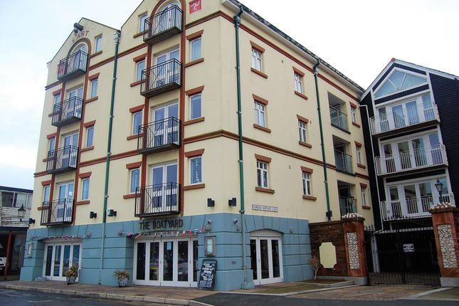 Thumbnail Flat to rent in East Quay, Peel, Isle Of Man