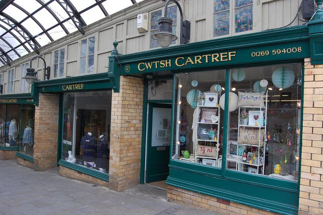 Thumbnail Commercial property to let in The Arcade, Ammanford