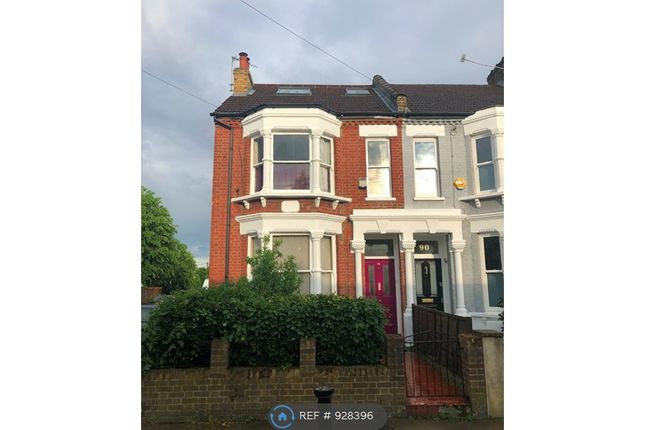 Thumbnail End terrace house to rent in Whittington Road, London