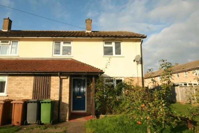 Thumbnail End terrace house to rent in Baldwin Close, Wittering, Peterborough